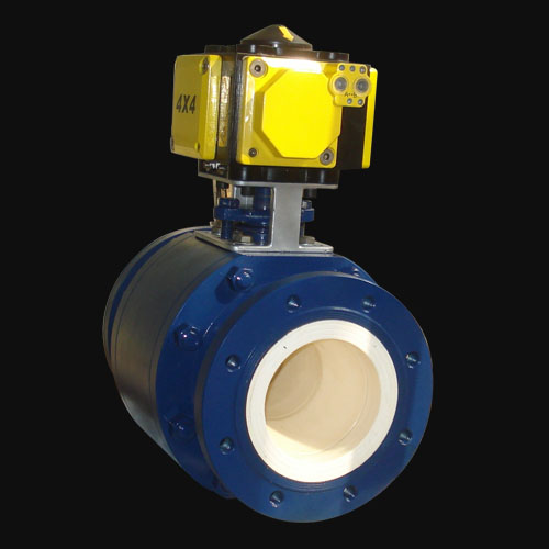 Ceramic Full Lined Trunnion Mounted Ball Valve