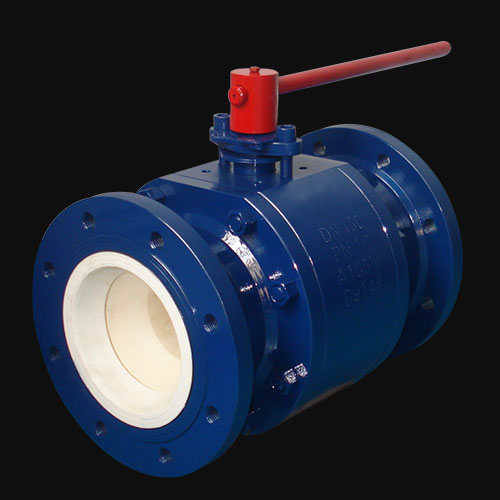 Manual Ceramic Full Lined Ceramic Ball Valve